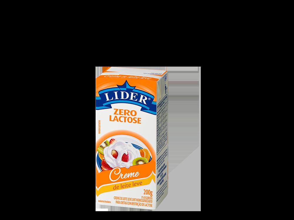 Creme de leite zero lactose 200g