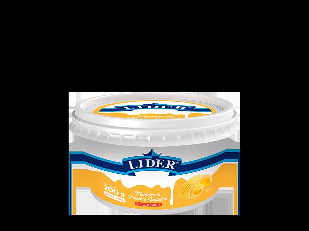 Manteiga de Primeira Qualidade com sal 200g